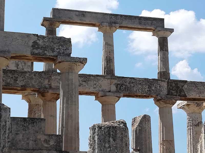 Архитектура храма Афайи