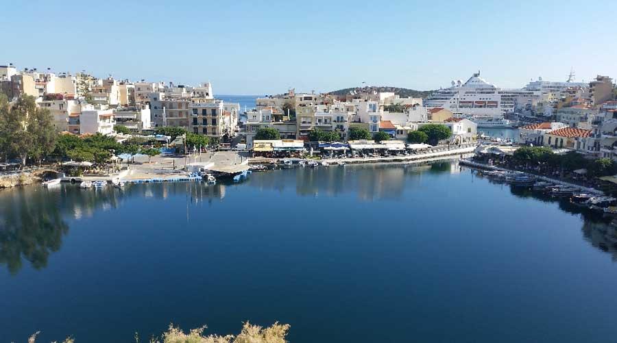 Город Агиос Николаос на Крите