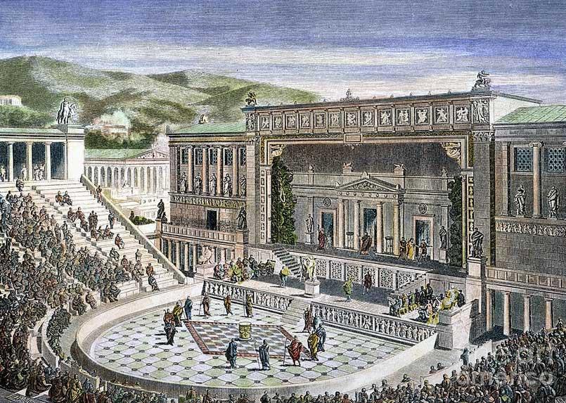 История Греческого театра