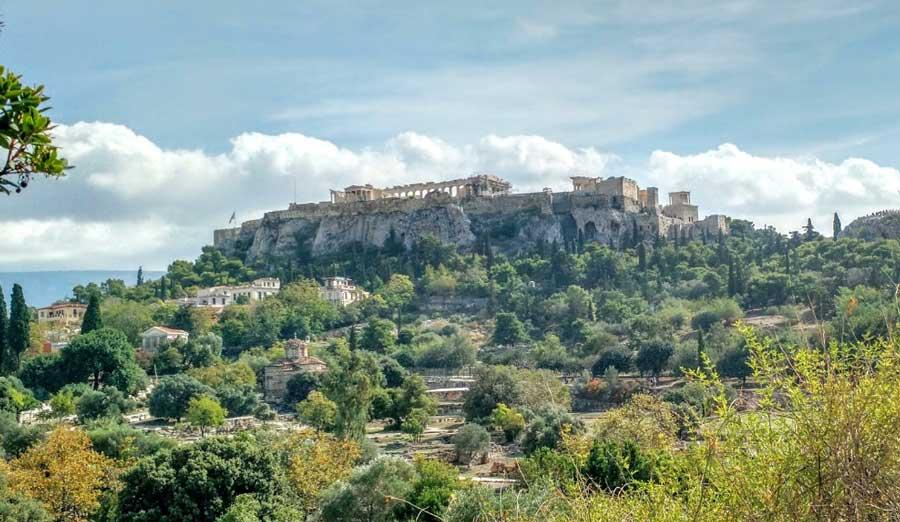 Достопримечательности Греции Акрополь