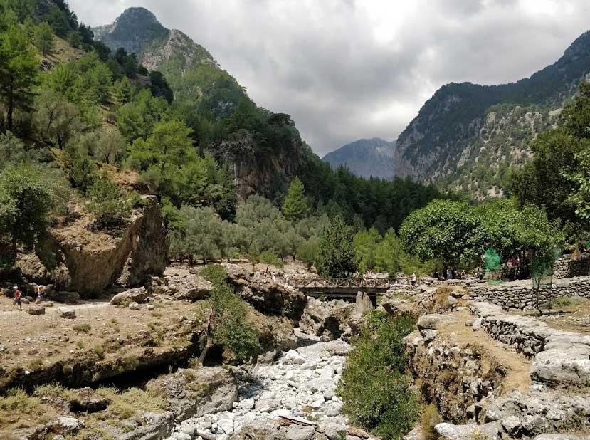 Самарийское ущелье Греция