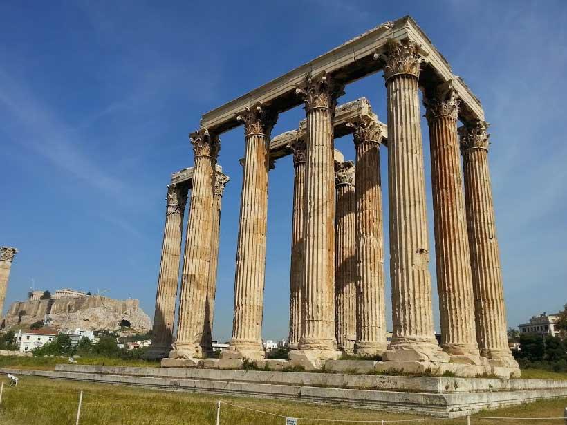 Агора храм Зевса Олимпийского
