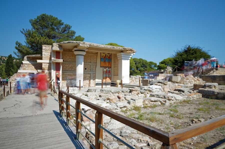 Достопримечательности Греции Кносский дворец