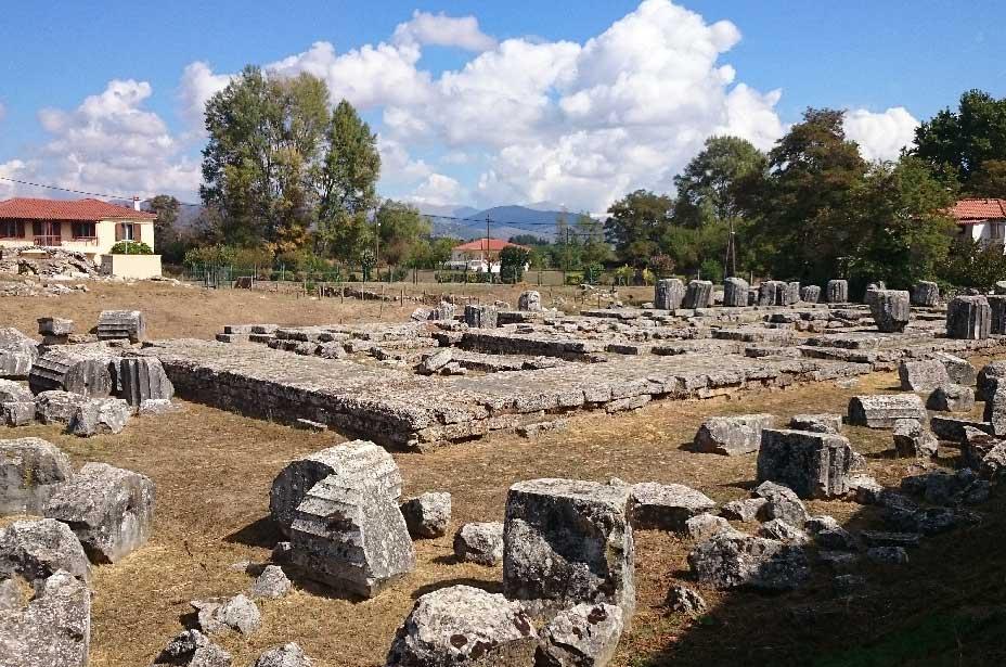 Храм Афины Алеи Тегея