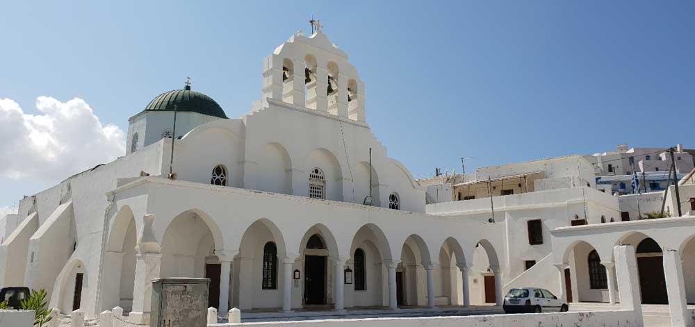 Храмы и церкви Наксоса
