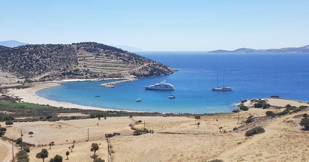 Пляжи острова Наксос