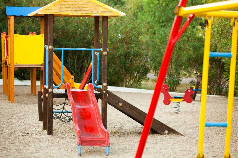 Детская площадка отеля Alexandros Palace Hotel