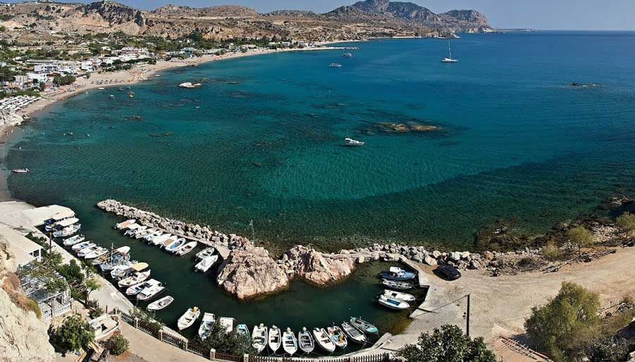 Стегна пляж Родос