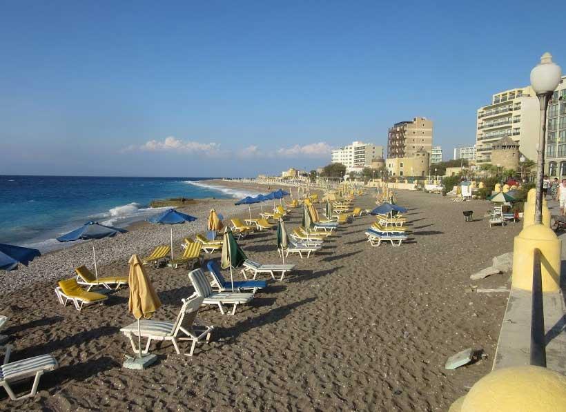 Пляж Элли Родос
