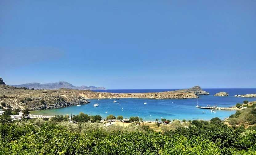 Пляжи Родоса