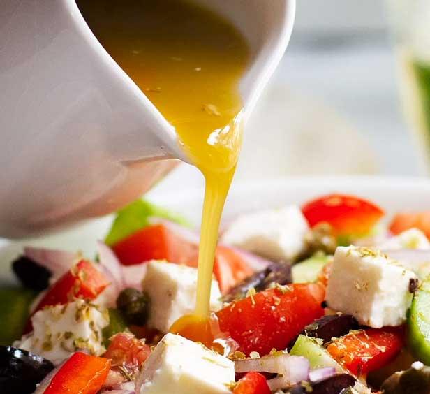 Заправка для классического греческого салата