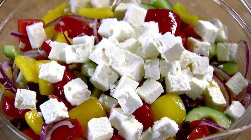 Сыр «Фета» для греческого салата