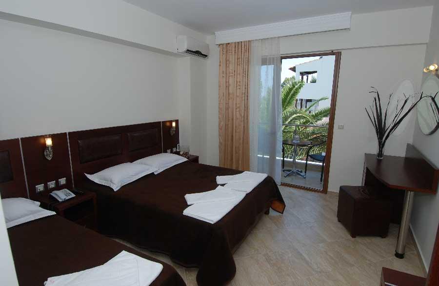 Отель Simeon Hotel 3* - семейный отдых в Халкидики-Ситония