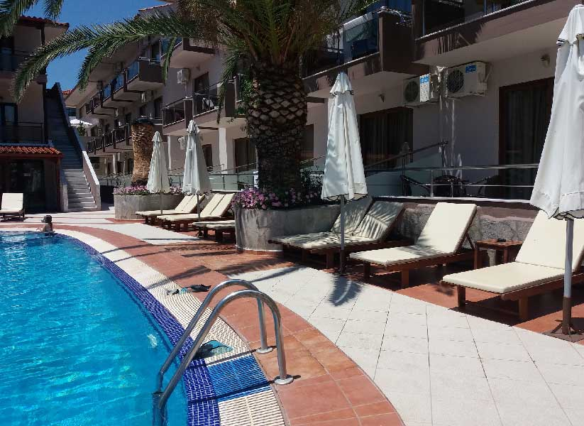 Бассейн Simeon Hotel 3 Метаморфоси