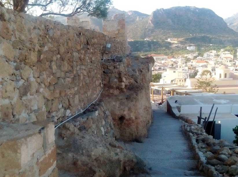 Крепость Палеохора