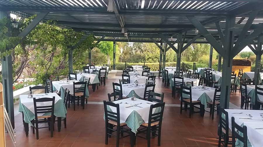 Открытый ресторан mitsis rodos maris