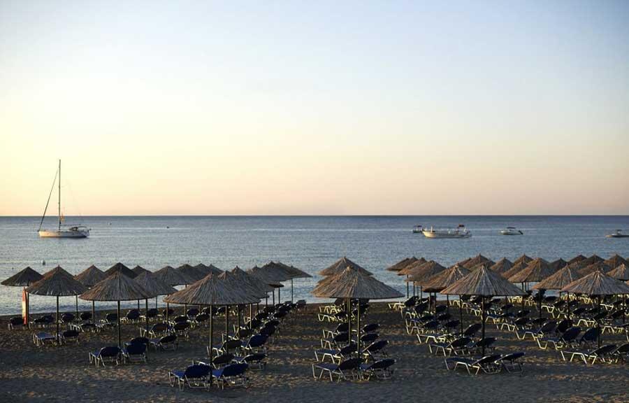 Пляж mitsis rodos maris