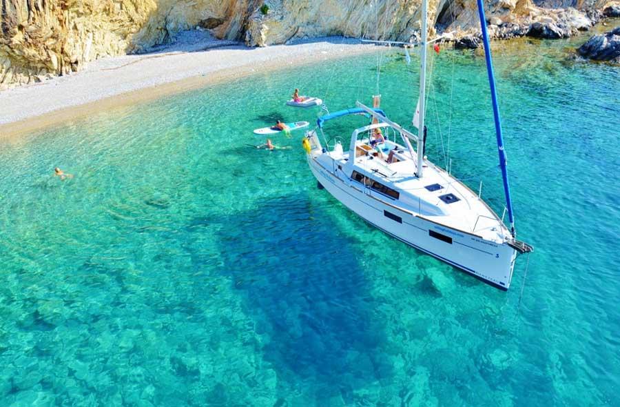 Фрахтовка яхты в Греции