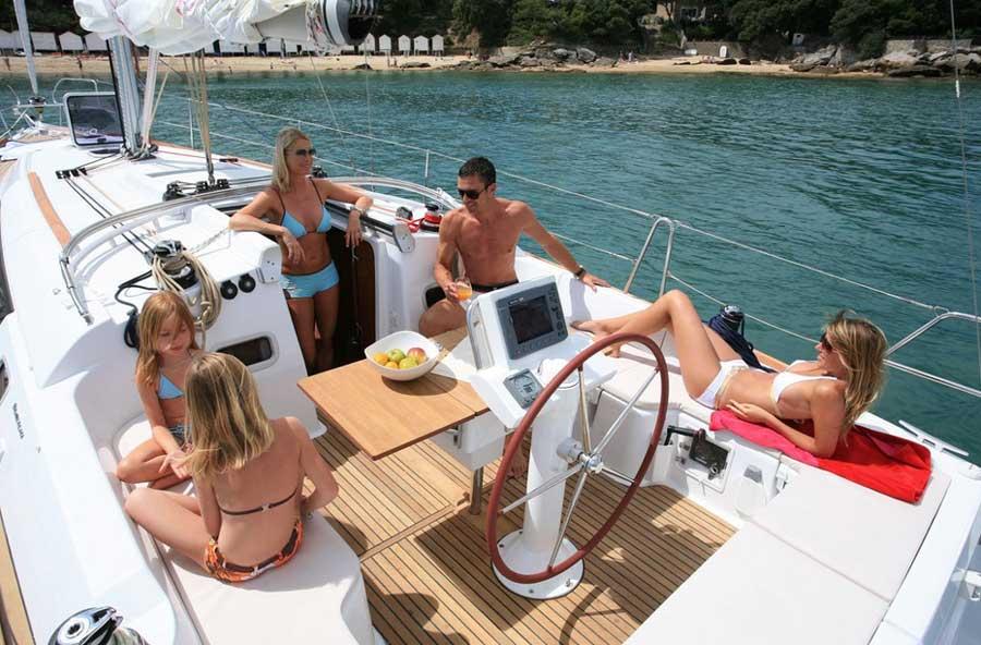 Отдых на яхте в Греции
