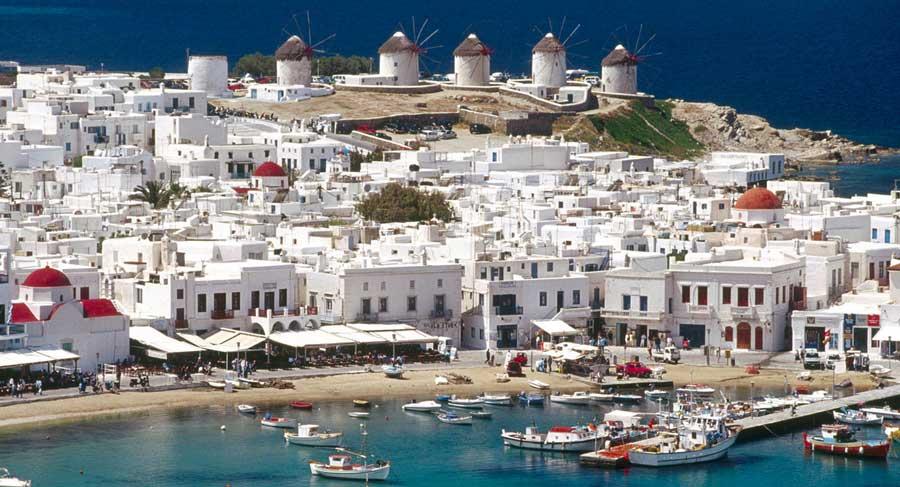 Путешествие на яхте вокруг Греции