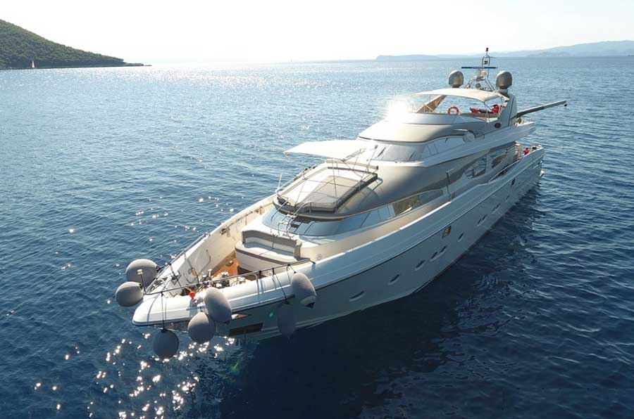 Моторные яхты Греция