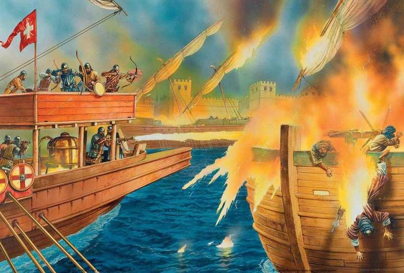 Рецепт греческого огня