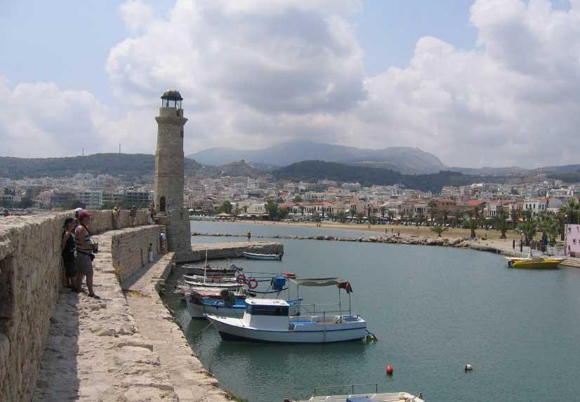 Города и население Крита