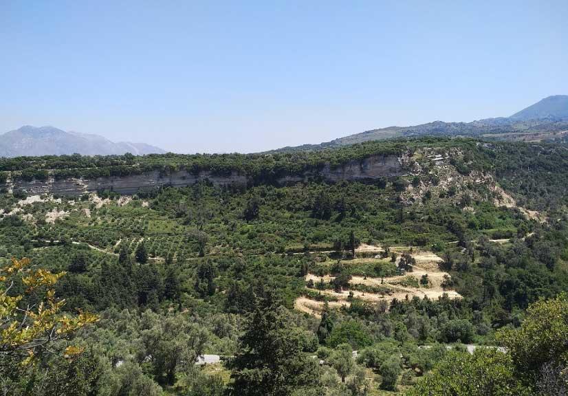 Природа на Крите