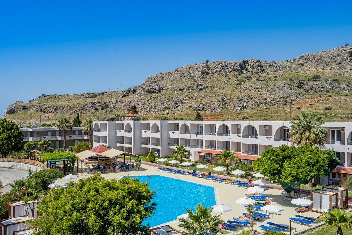 Отель lardos bay 3
