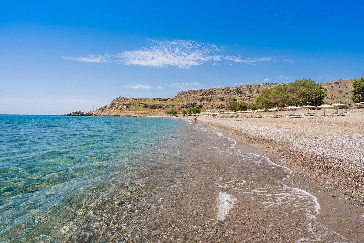 Пляж отеля lardos bay 3