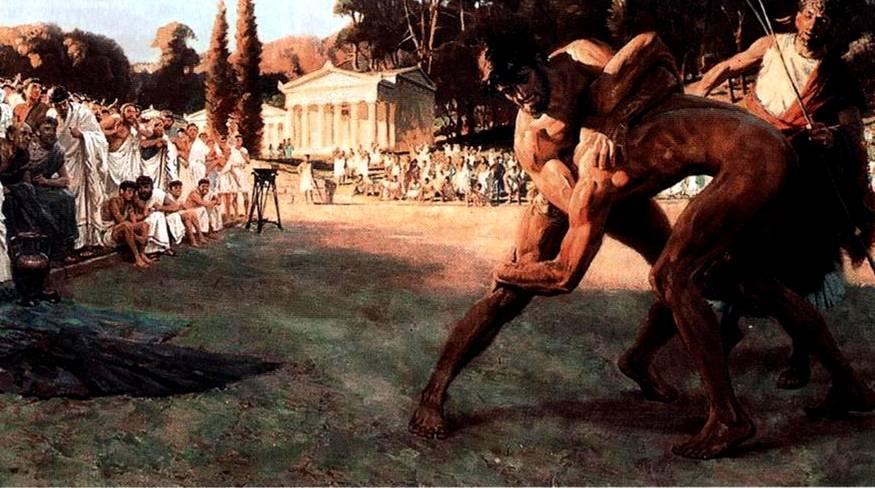 Как проходили первые современные Олимпийские игры в 1896 году