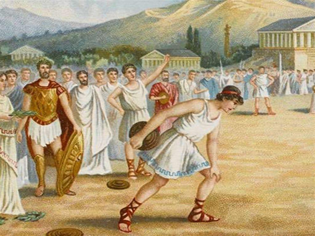 Античные спортивные соревнования в Греции